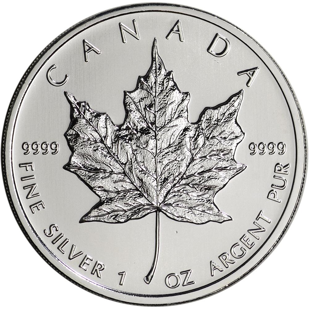 2012 Canada Silver Maple Leaf 1 Oz 5 Bu Ebay