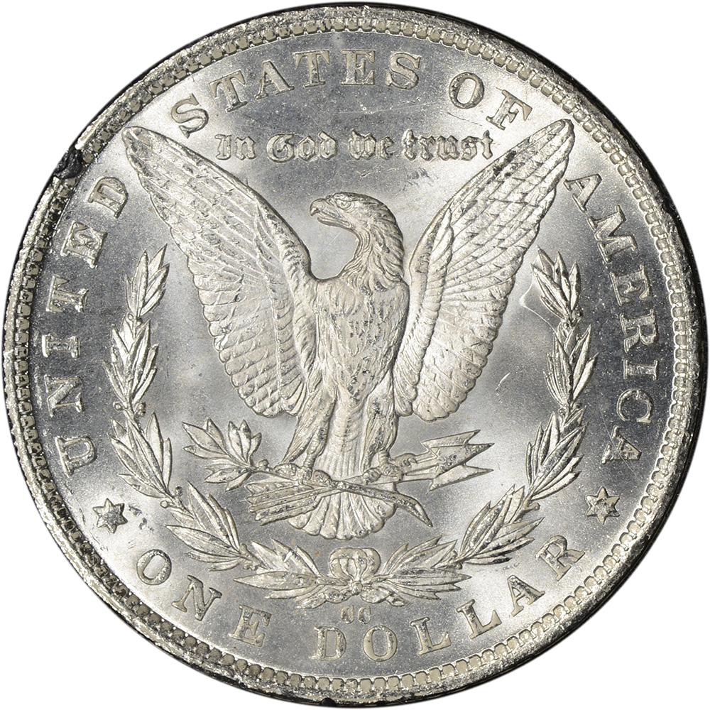 1882 Cc Us Morgan Silver Dollar 1 Gsa Holder