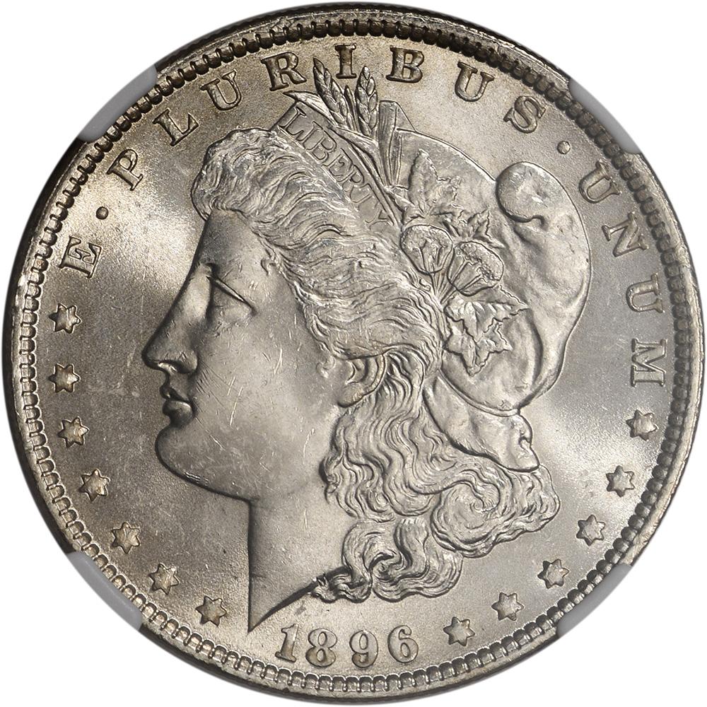 1896 Us Morgan Silver Dollar 1 Ngc Ms63 Ebay