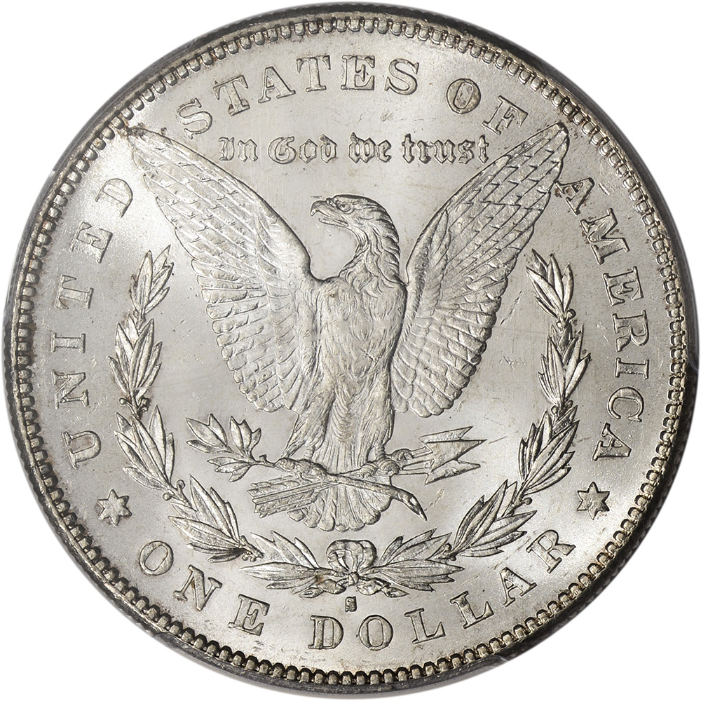 1879 S Us Morgan Silver Dollar 1 Reverse Of 1878 Pcgs