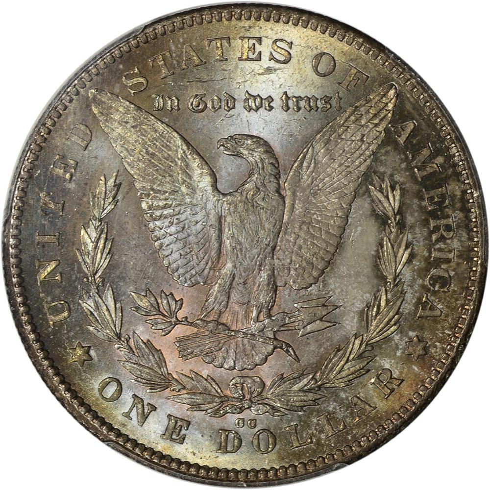 1878 Cc Us Morgan Silver Dollar 1 Pcgs Ms65 Cac
