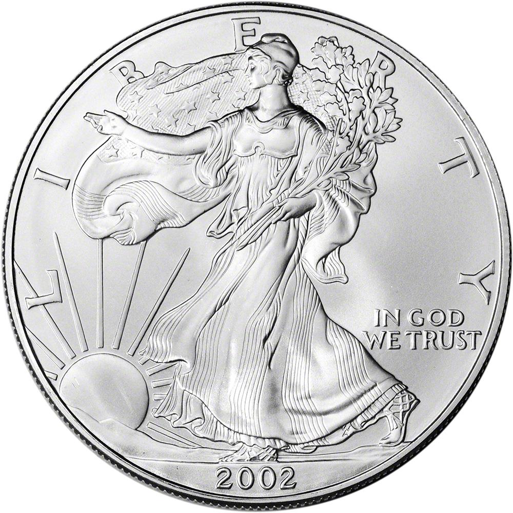 1994 American Silver Eagle Brilliant Uncirculated
