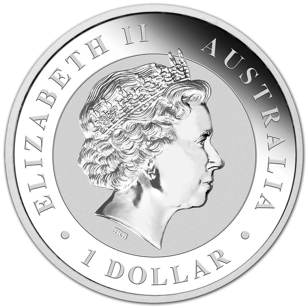 NGC MS70 1 oz Early Releases 2017-P Australia Silver Kookaburra $1