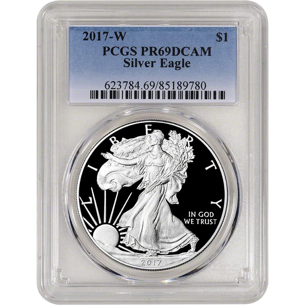 PCGS PR69 DCAM 2017-W American Silver Eagle Proof