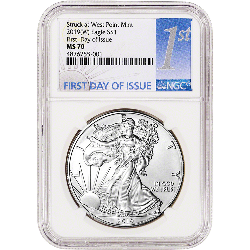 Only One MS70 in 1st Strike 2001 American Silver Eagle PCGS MS69 First Strike