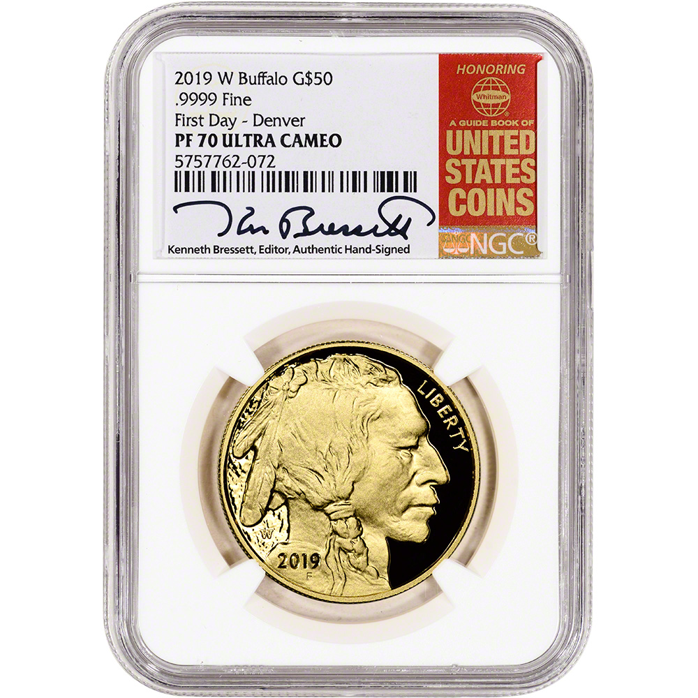 2019-S 1 oz Proof Silver American Eagle NGC PF 70 UCAM Early Releases