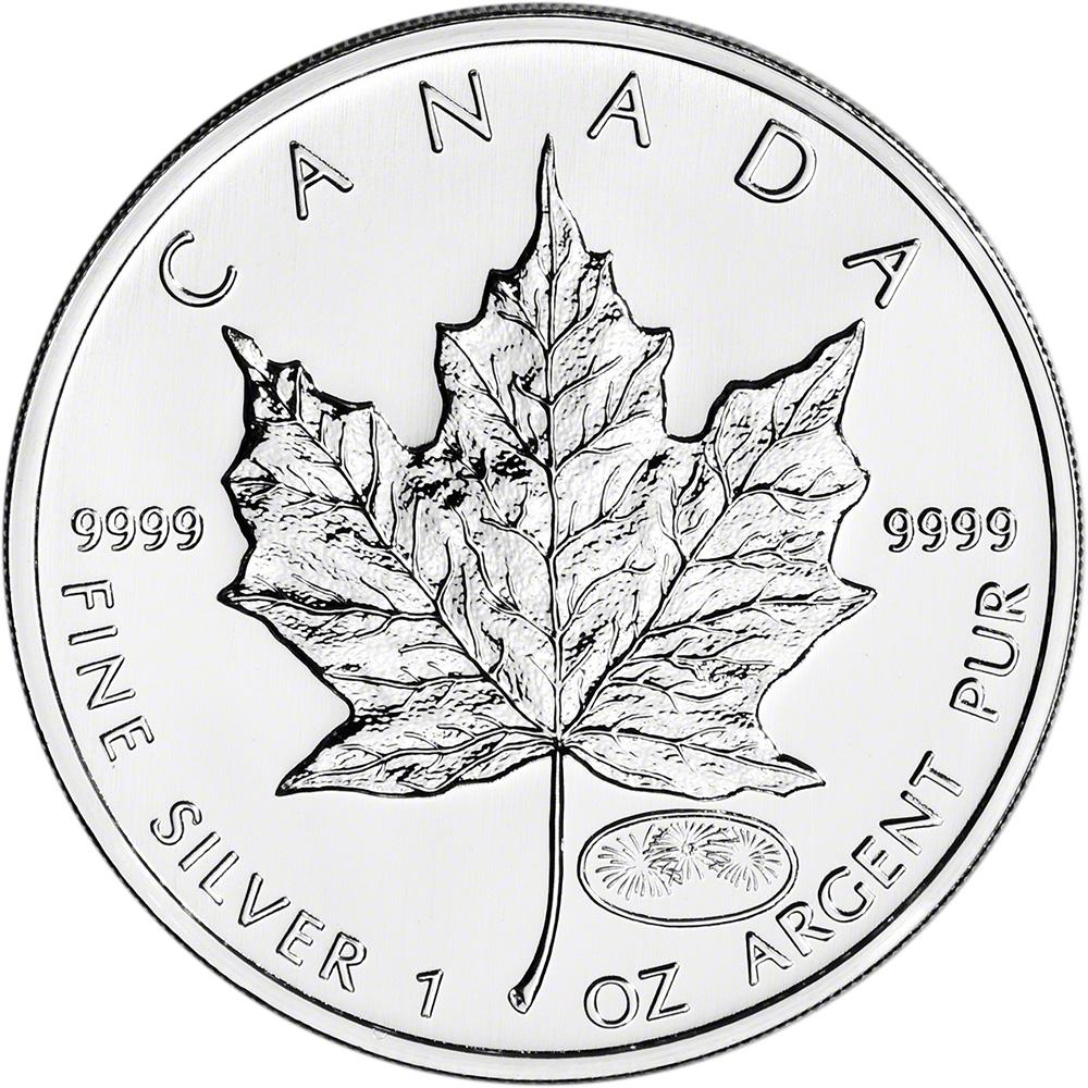 $5 1 oz 1999 Canada Silver Maple Leaf BU