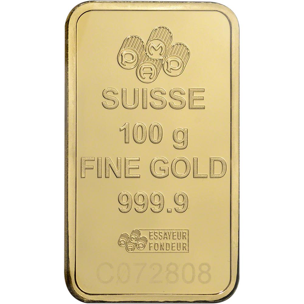PAMP Suisse Fortuna 999.9 Fine in Assay 1 gram Gold Bar Ten 10 Bars