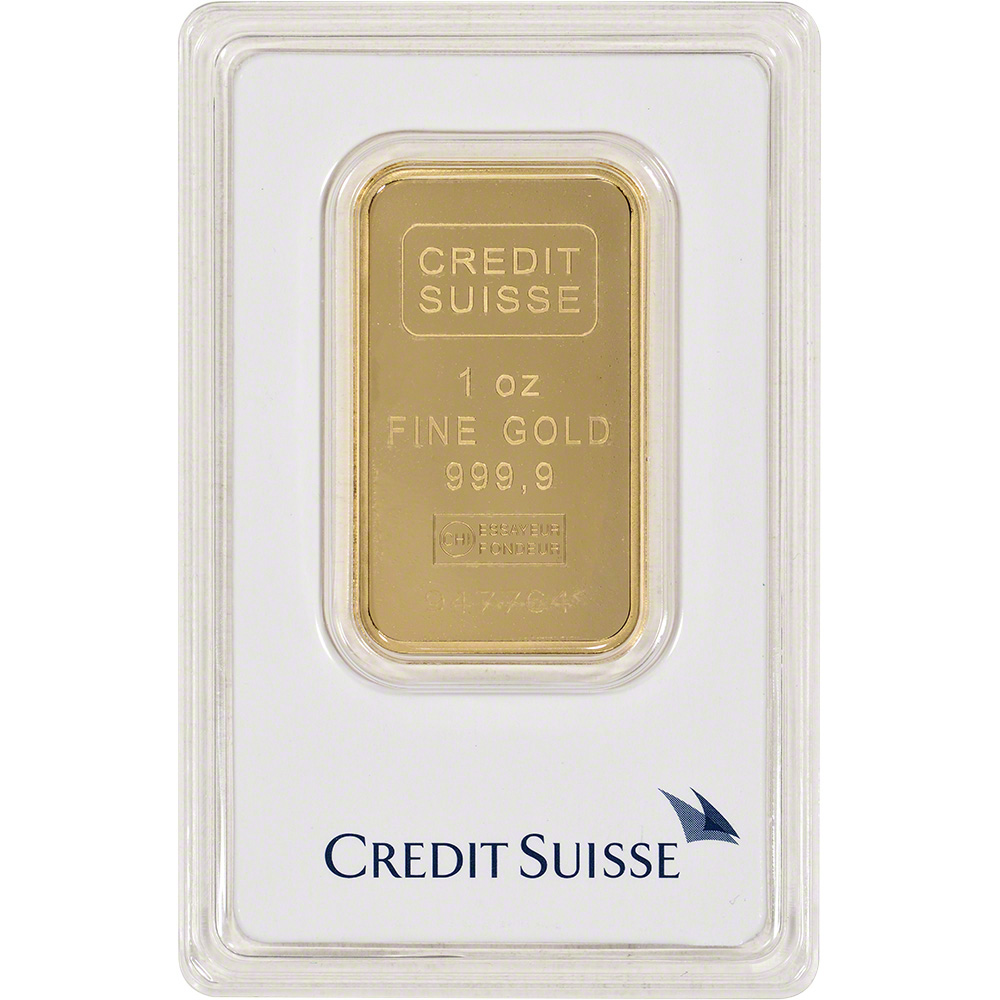 Gold Bar Credit Suisse 99 Fine In Ay