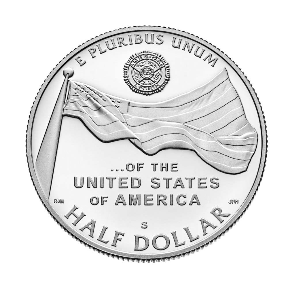 2019-S US American Legion Commemorative Proof Half Dollar PCGS PR69 First Strike