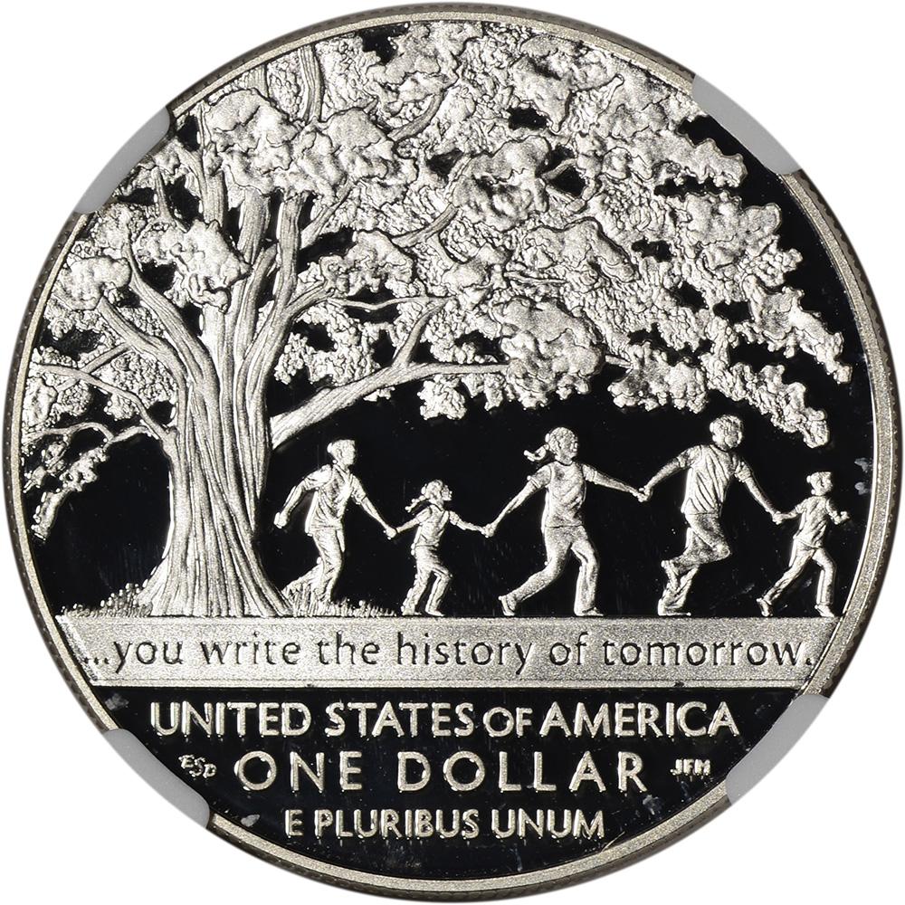 NGC PF70 UCAM 2017-P US Lions Club Commemorative Proof Silver Dollar