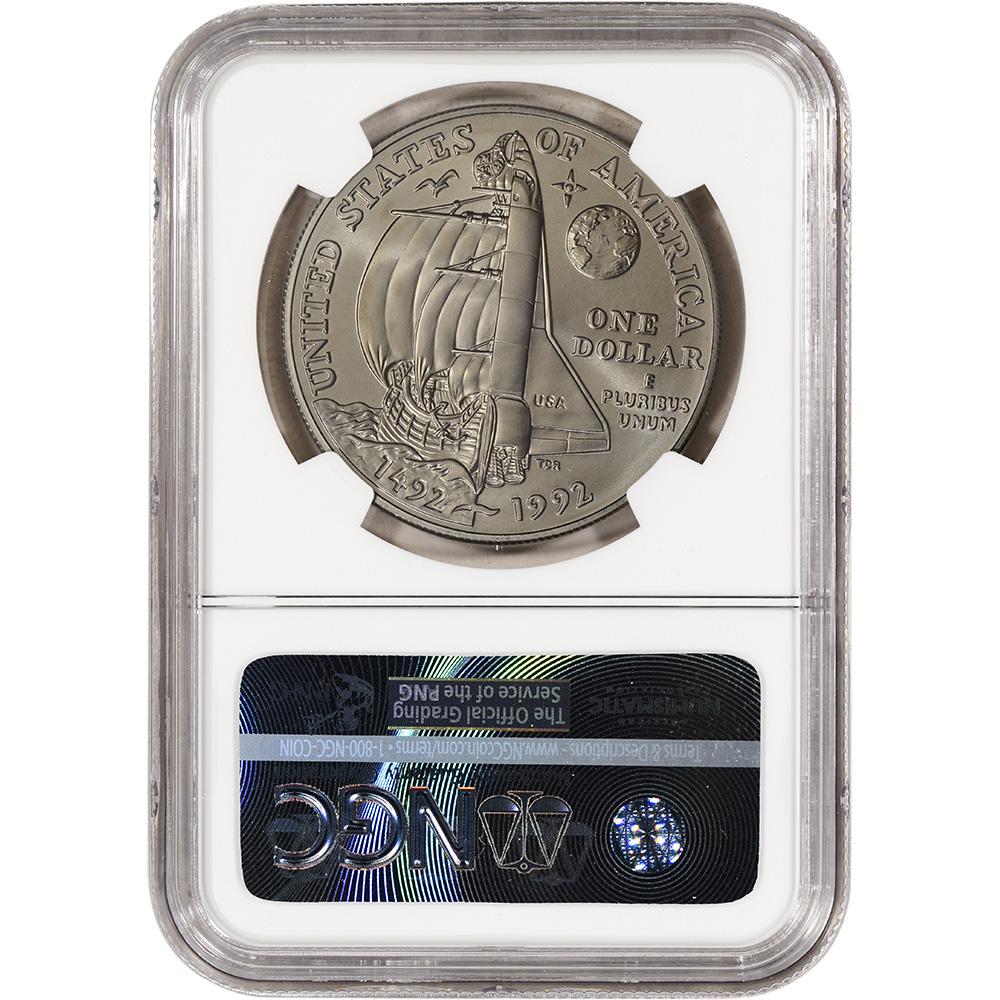 NGC MS69 1992-D US Olympic Commemorative BU Silver Dollar