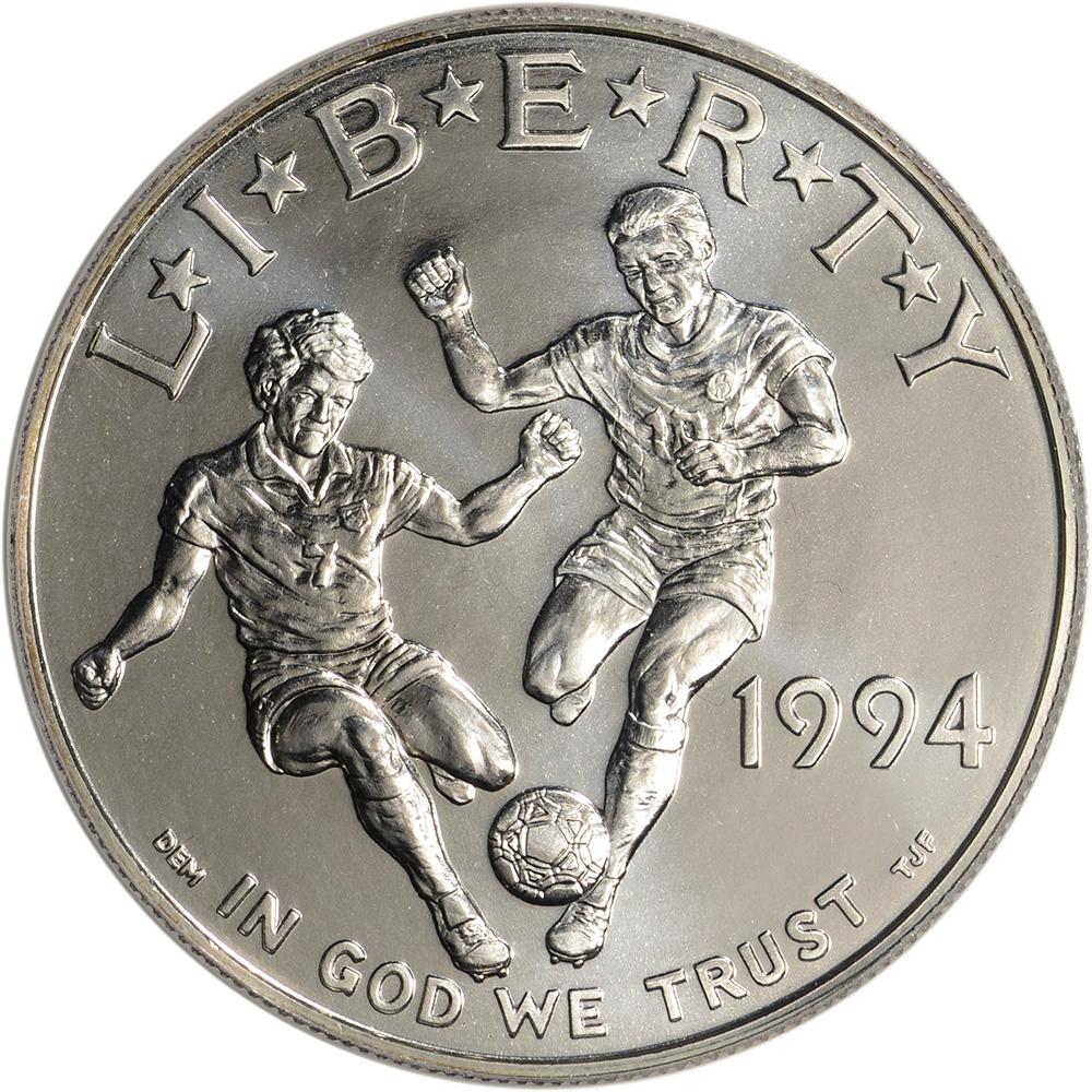 1994 D USA-LA World Cup US Mint Uncirculated Commemorative 50c PCGS MS 69