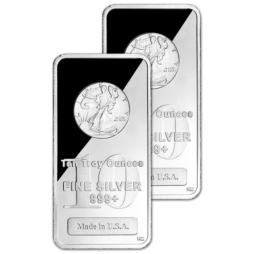 Walking Liberty 1oz Silver Bar