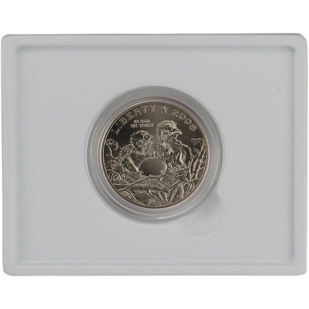 2008 S Bald Eagle Brilliant Uncirculated Commemorative 50c Half Dollar BU OGP Box w//COA US Mint