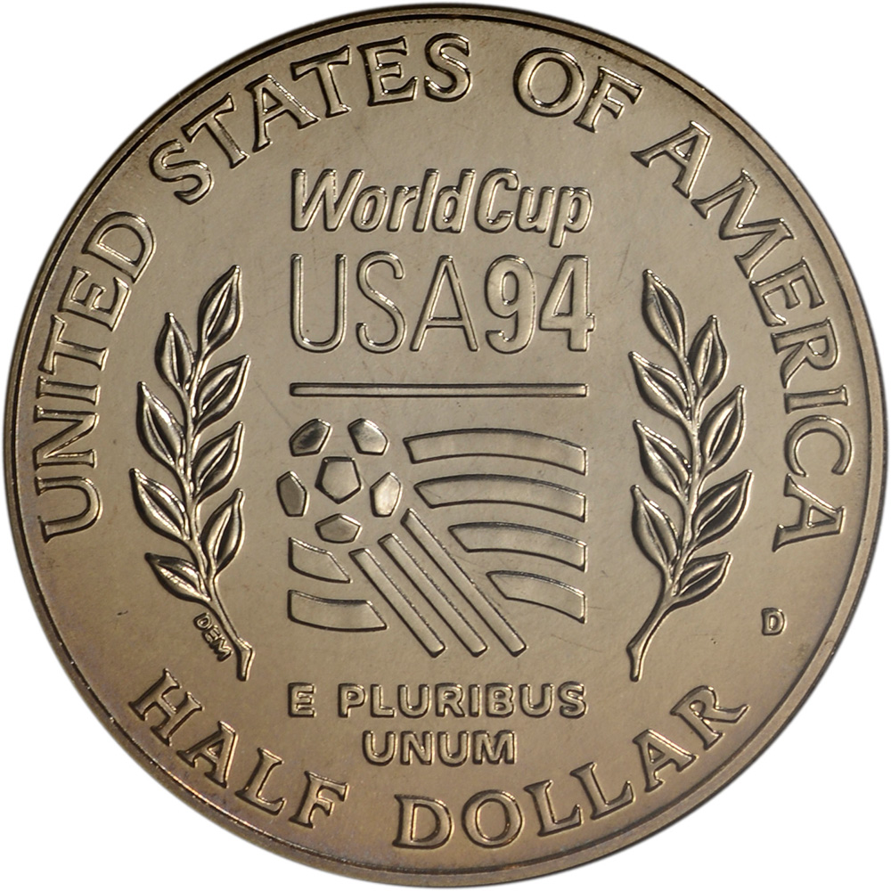 1994 50c World Cup USA Half Dollar Young Collector/'s Edition Opened