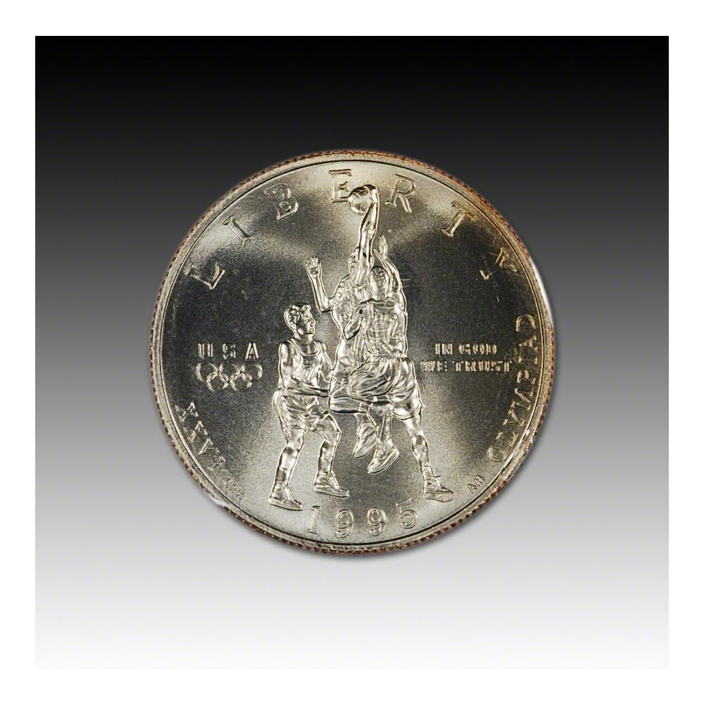 Basketball Commem Half Dollar Young Collector/'s Ed #1 BU 1995-S 50c Olympic