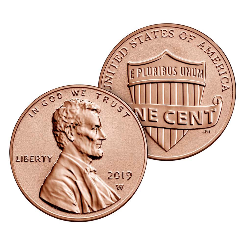 NO EXTRA Lincoln /'W/' CENT 2019S 10 Coin SILVER Proof Set w//box /& COA
