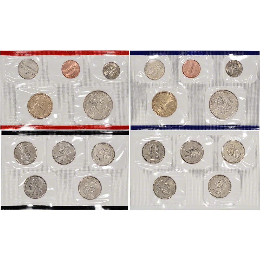 2000 mint coin set