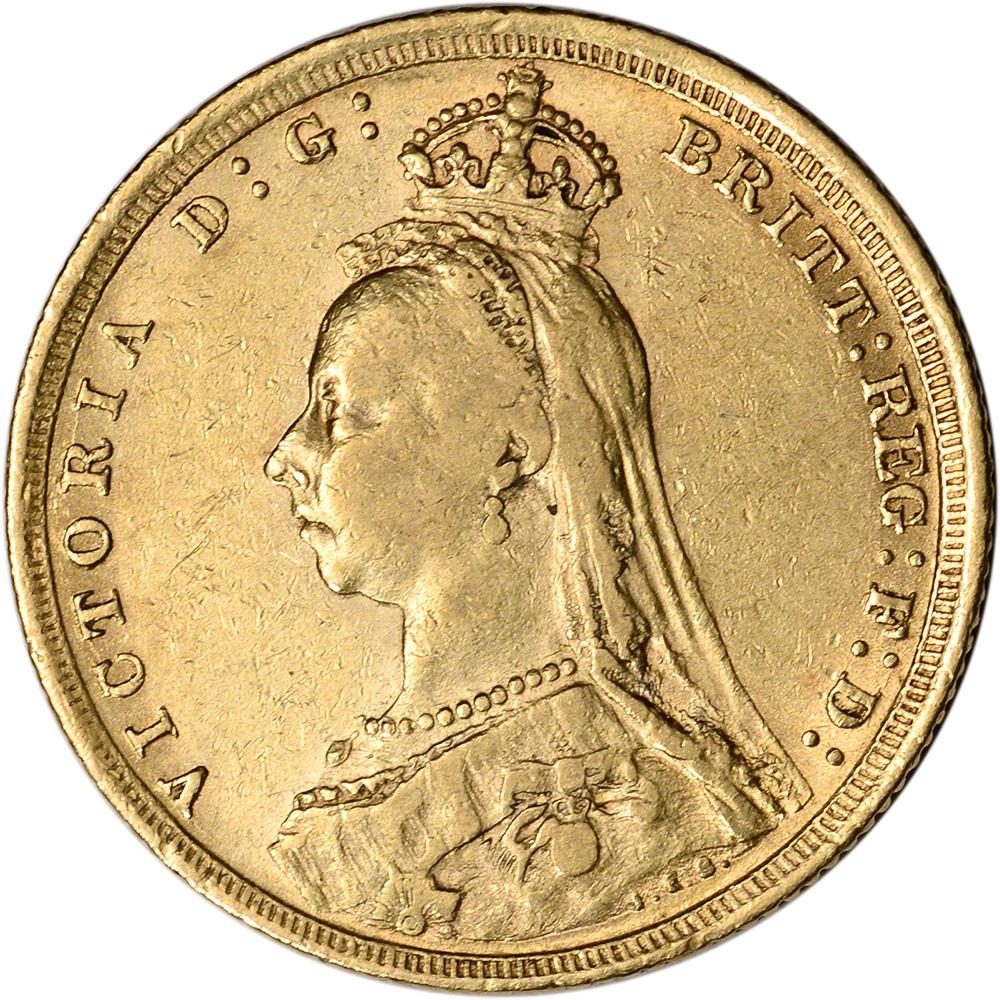Random Date Australia Gold Perth P Sovereign .2354 oz Edward VII XF-AU