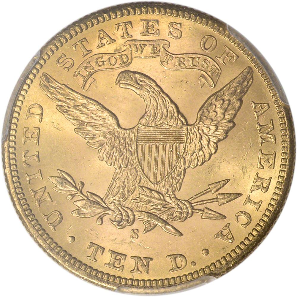 US Gold $10 Liberty Head Eagle NGC MS63 Random Date